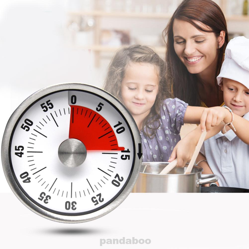 Magnetic Countdown Stainless Steel Time Counter Timer Oven Baking Cooking Clock