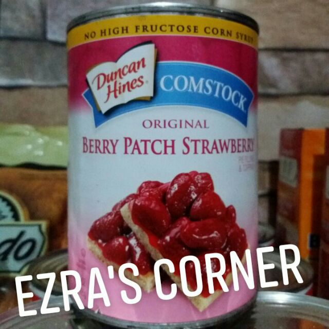 Duncan Hines Comstock Original Berry Patch Strawberry Pie Filling And Topping 595 Grams Shopee Philippines
