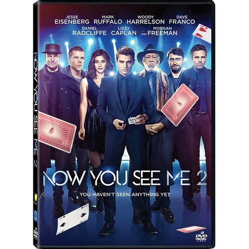 Now You See Me 2 2016 Dvd Shopee Philippines