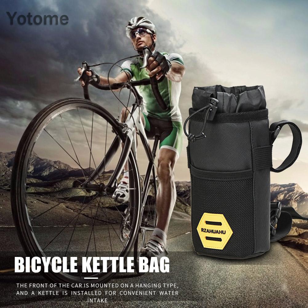 Yotome Bicycle Insulated Water Bottle Holder Bag Bike Handlebar Kettle Storage Bag Shopee Philippines