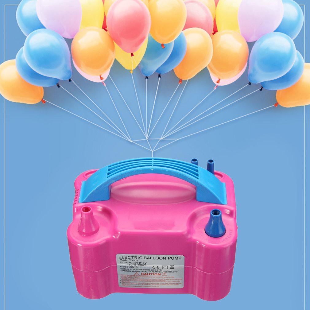 Portable Electric Balloon Pump Air Blower High Power 220V 600W Inflator AC US