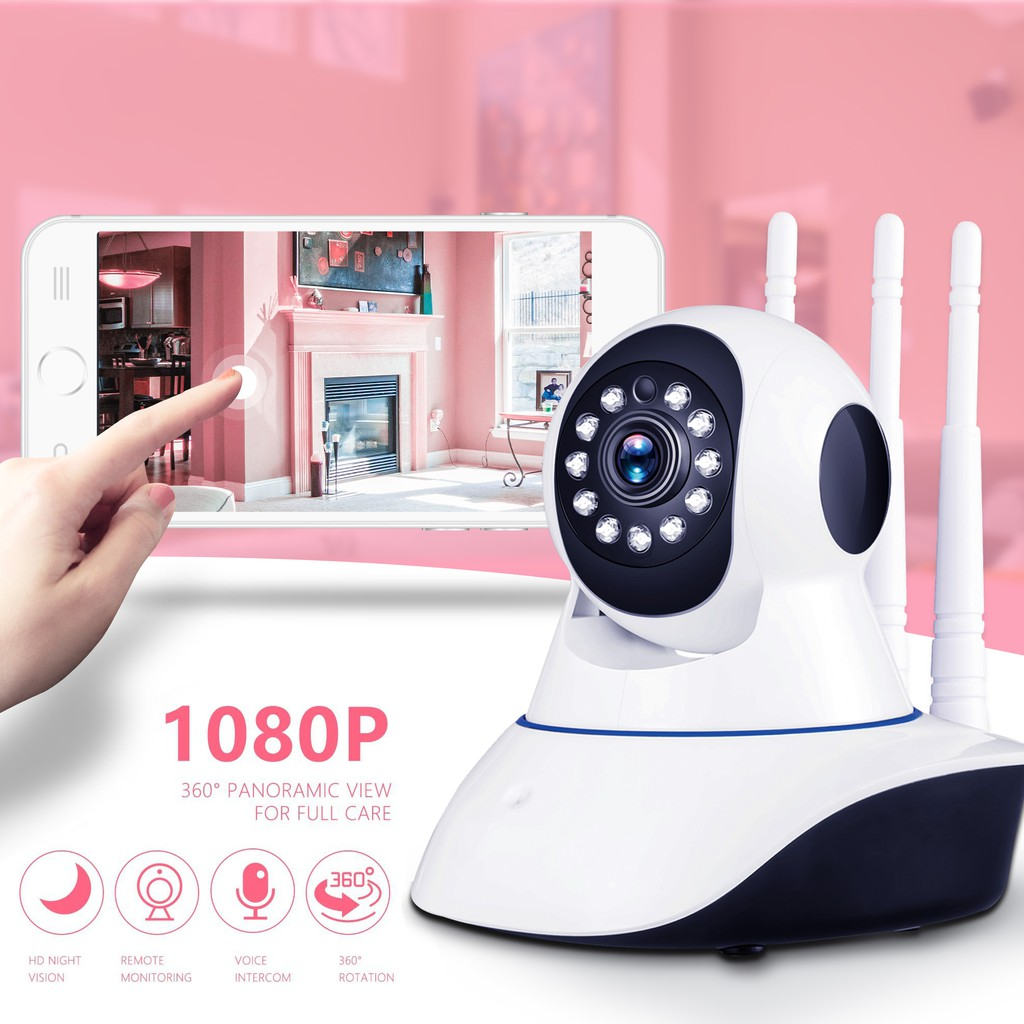 1080P WiFi Wireless IP Camera Security Video Surveillance Ip Cam CCTV  Camera ipcam