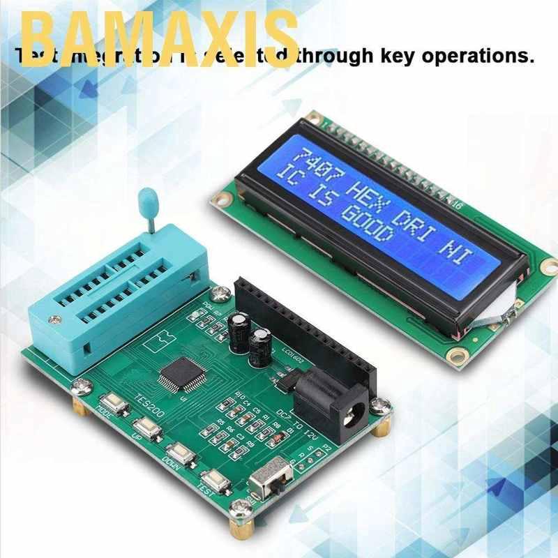 New Integrated Circuit IC Tester f// 74 40 45 Series lC Logic Gate Digital Meter