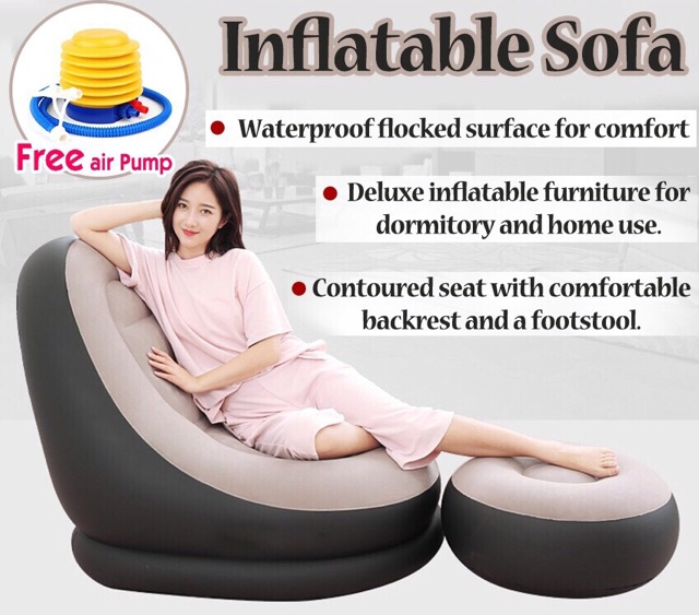 Pleasant Home Kitchen Furniture Deluxe Inflatable Lounge Lounger Onthecornerstone Fun Painted Chair Ideas Images Onthecornerstoneorg