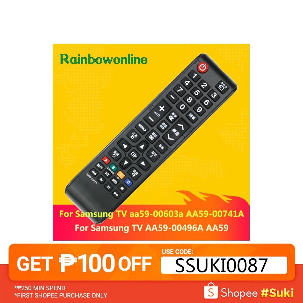 🌴🌴Remote Control for Samsung TV aa59-00603a AA59-00741A AA59-00496A AA59  Smart TV Remote Control