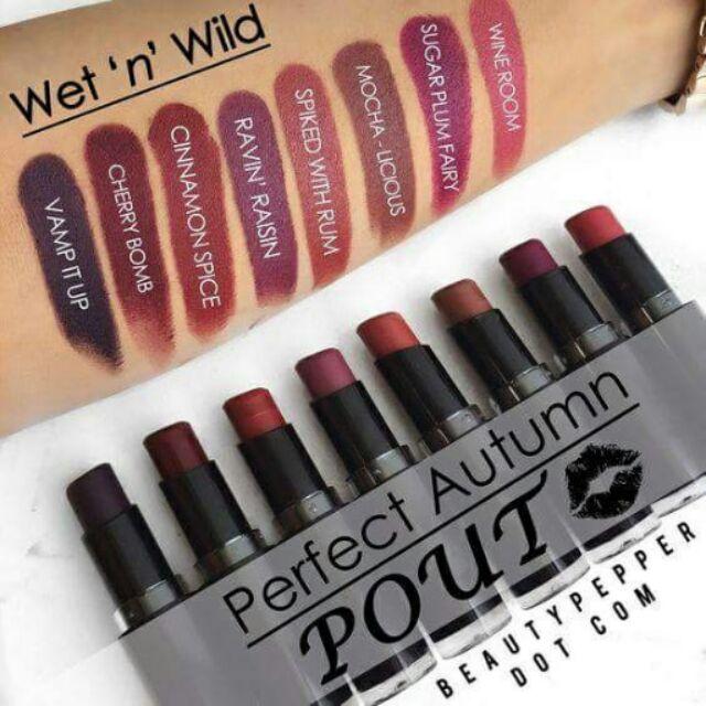Wet N Wild Lipsticks Shopee Philippines