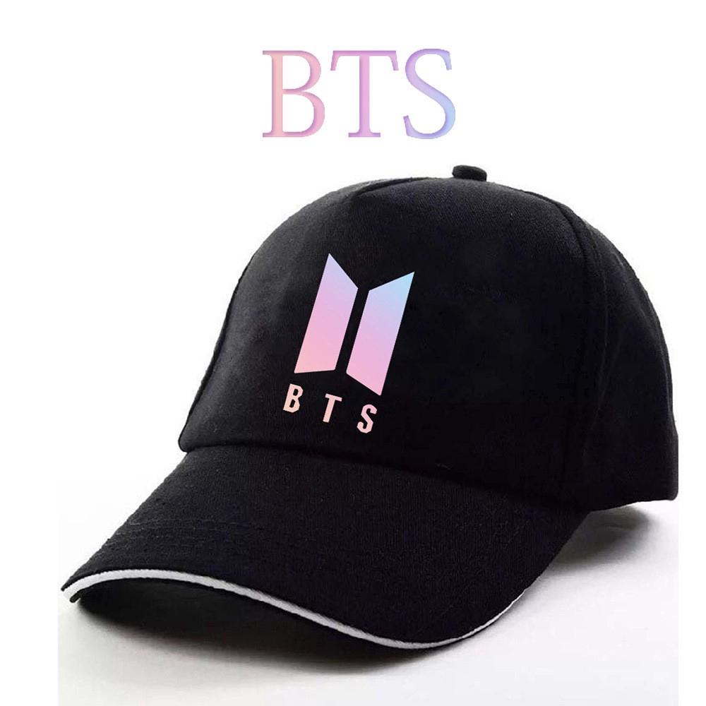 39b1335de67 Ready Stock KPOP BTS Cap Flat Cap Bangtan Boys Baseball Hats ...