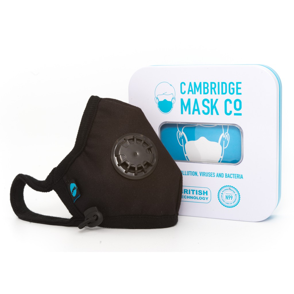 N99 Filtered Pro Face The Churchill Reusable Cambridge Mask