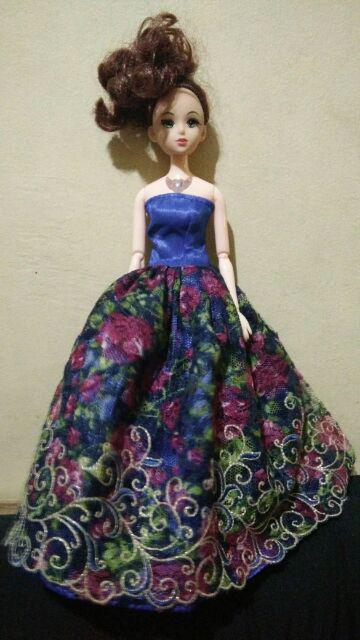 Handmade Doll Lovely Dress For  Doll Party Daily Wear Cloth Nq
