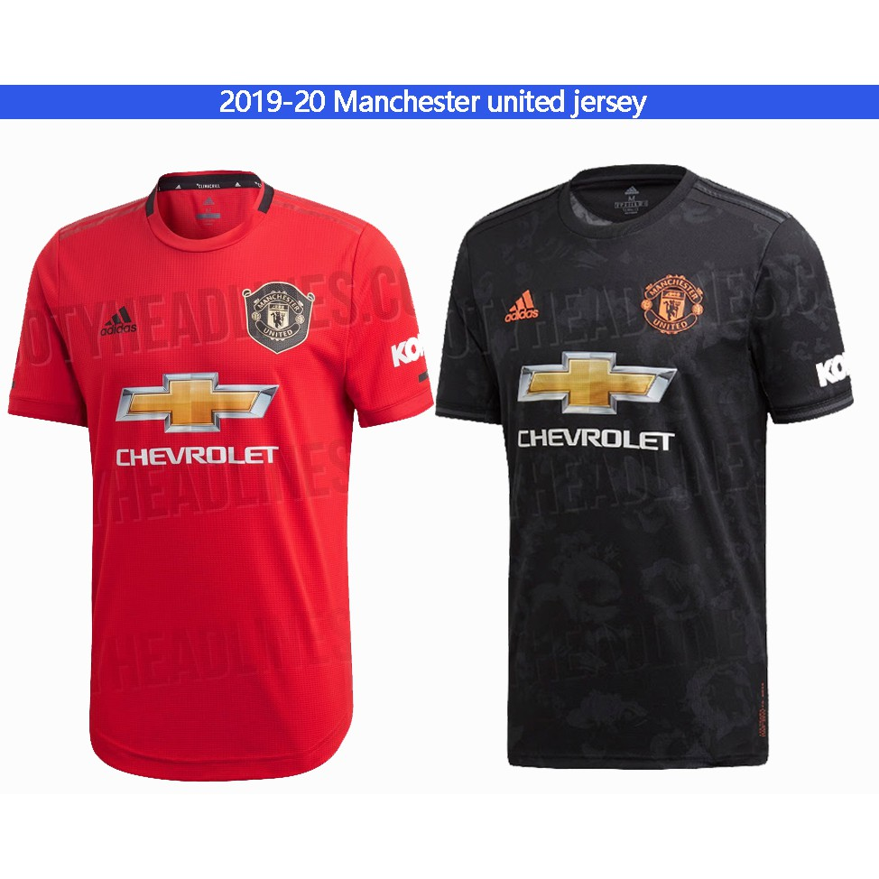 2019 20 Manchester United Home Football Soccer Kit Jersey Shopee Philippines
