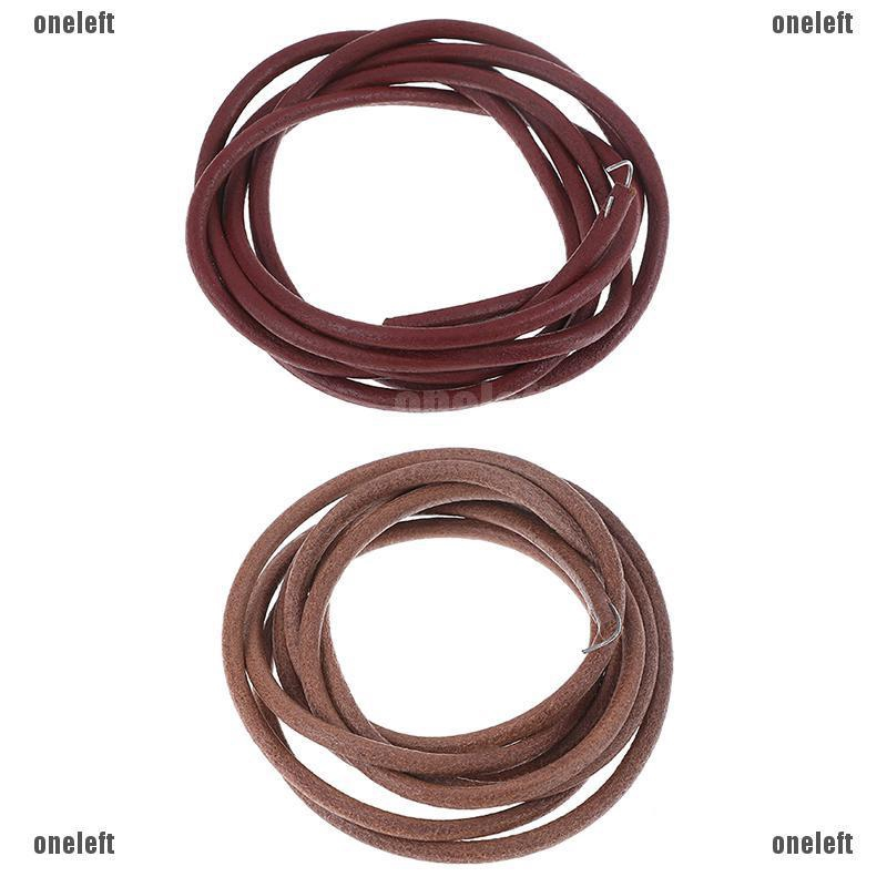 183cm Leather Belt Treadle Parts With Hook For Singer Sewing Machine 5mm Diamete