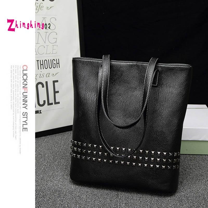 Pu Leather Female Handbag Autumn Large