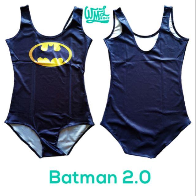 7585fc89b92 Joker One-Piece Swimsuit Swimwear Printed Bodysuit Batman | Shopee  Philippines