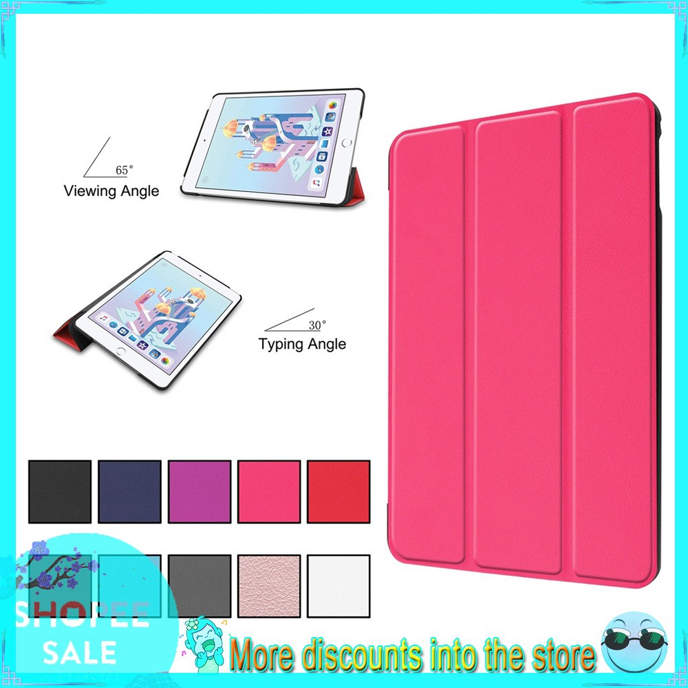 Ultra-Thin Stand Leather Case Magnetic For Ipad mini5