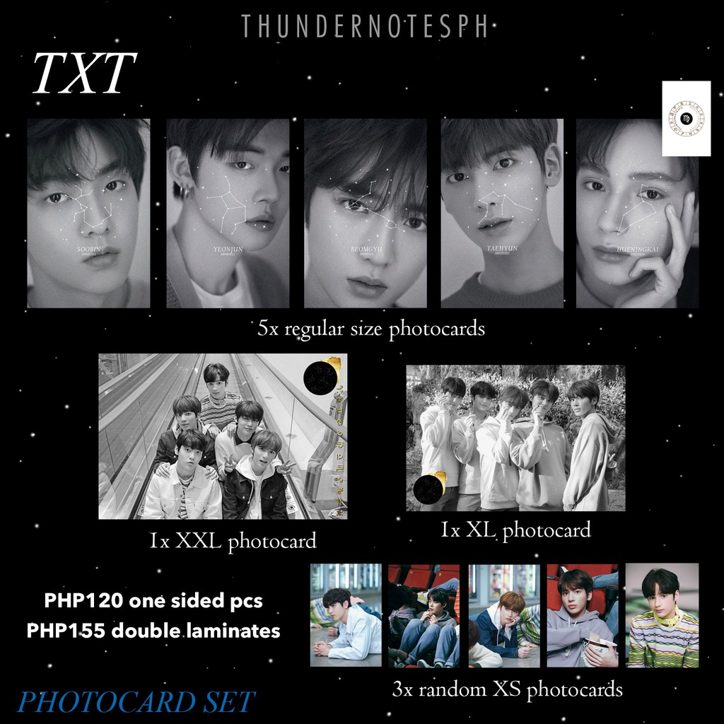 KPOP Zodiac Collection Photocards   Shopee Philippines