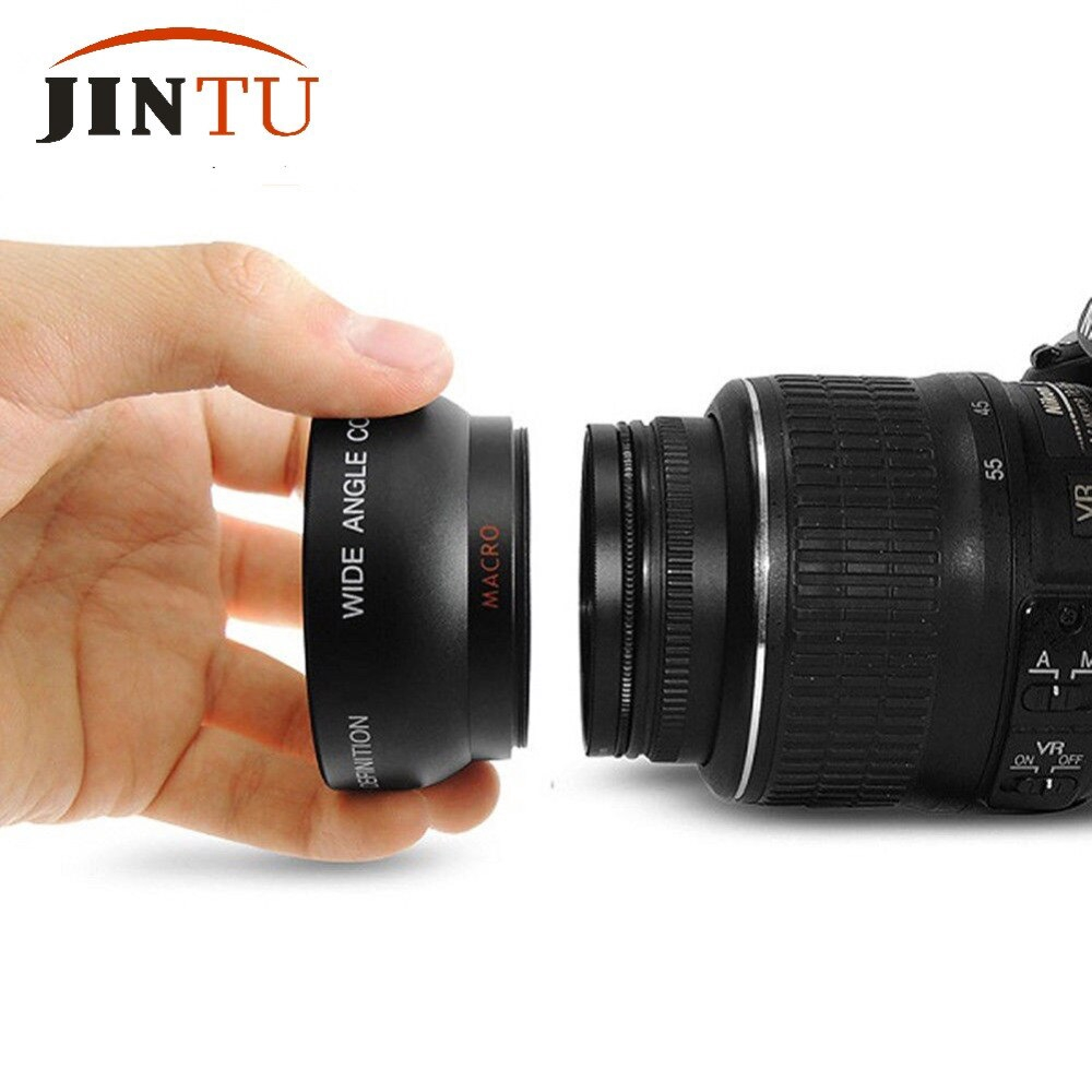 MACRO LENS FOR NIKON D3000 D3100 D3200 D3300 FAST SHIP 52MM HD WIDE ANGLE LENS