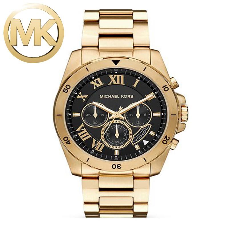 a1dec64ceb21 Michael Kors MK8157 Men s Black Stainless steel MK Watch