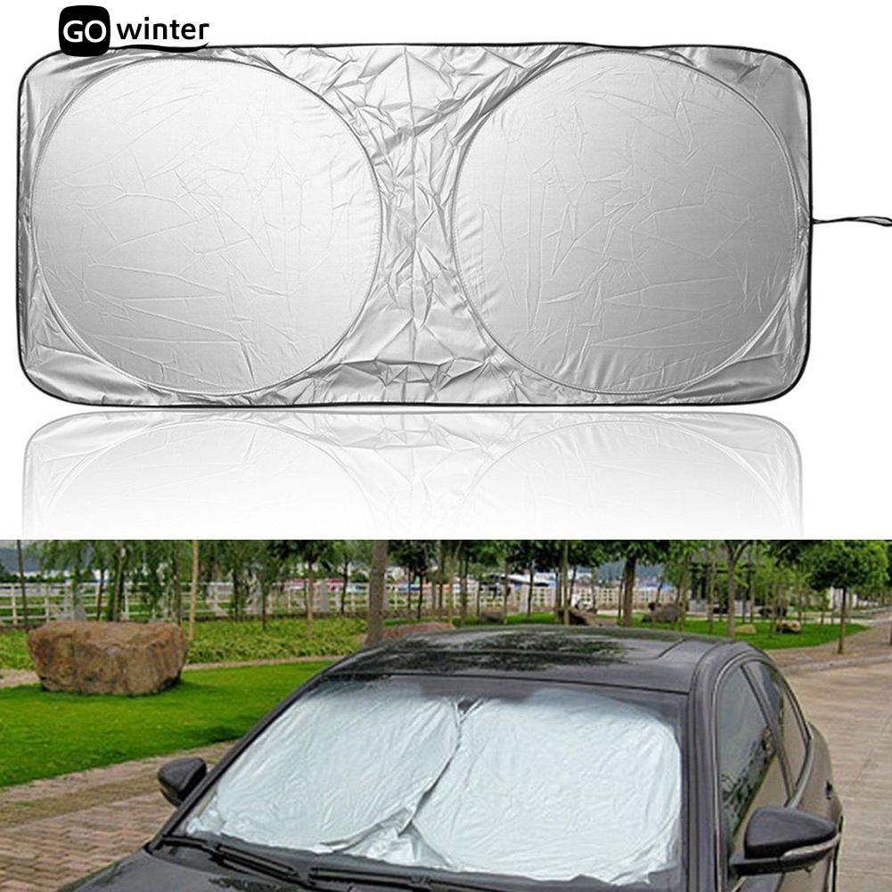 Auto Car Side Window Sun Shade Cover Visor Shield Windshield Folding Universal
