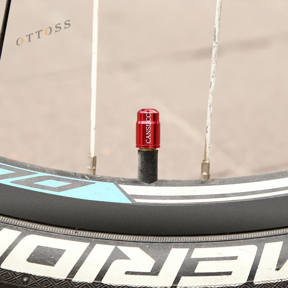 BLACK ANODIZED Aluminum alloy BMX bicycle acorn Schrader valve caps