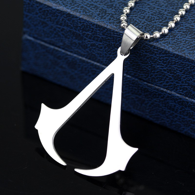 Assassin S Creed Necklace Necklace Stainless Steel Necklace