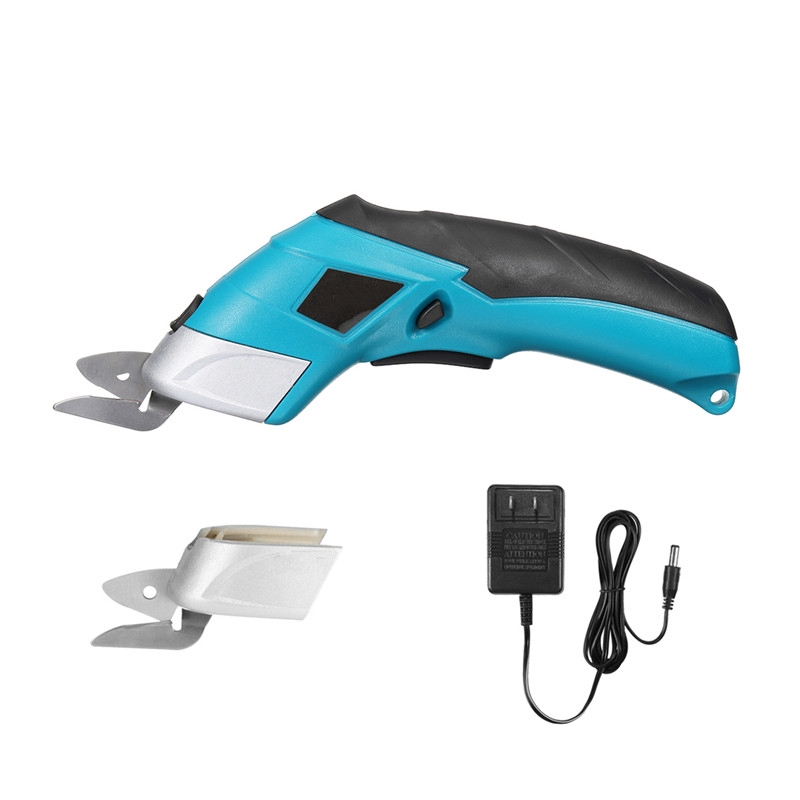 4V Electric Scissor Auto Cutter Cordless Tailors Scissors Rechargeable For  Cutting Garment Fabric | Shopee Philippines