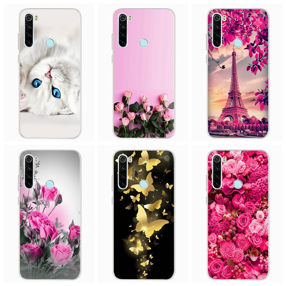 Xiaomi Redmi Note 8 Note 8 Pro Casing Cover Tpu Soft Flower Cartoon Painting Silicone Phone Case Shopee Philippines