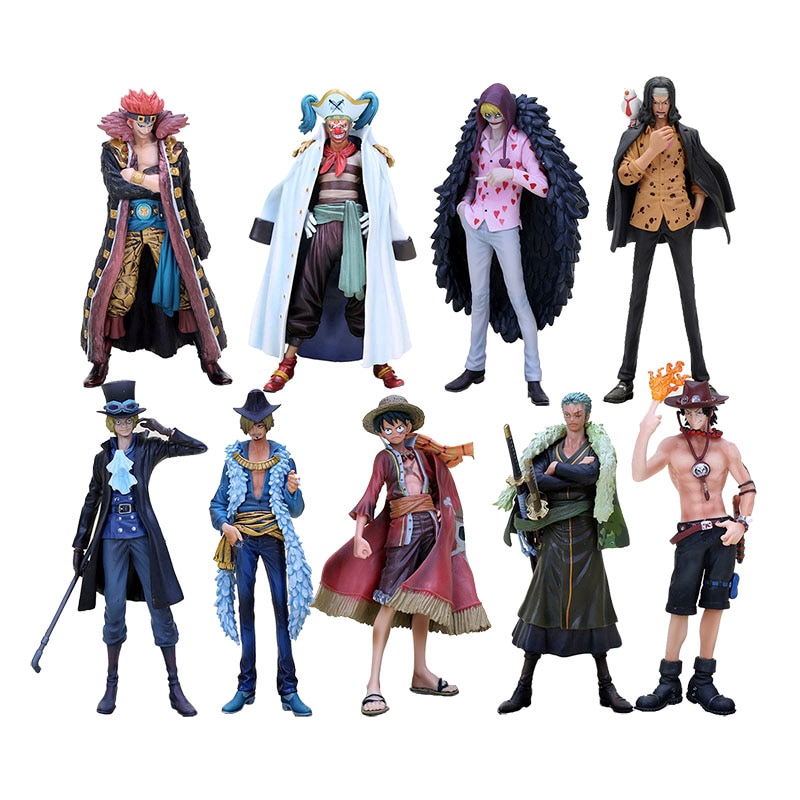 17cm One Piece Monkey D Luffy Ace Zoro Sanji Sabo