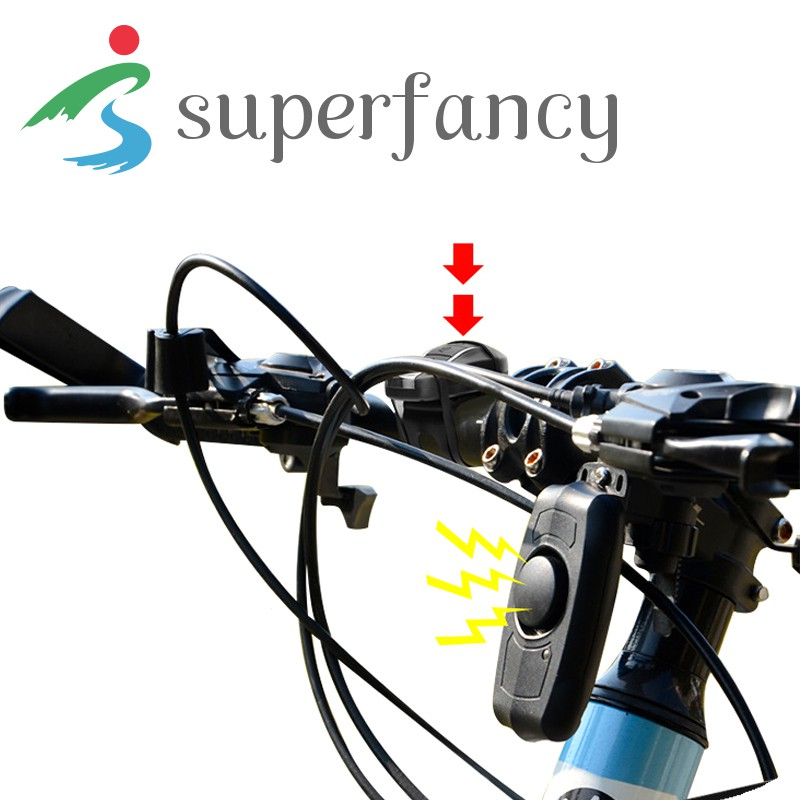 Bicycle Motorbike Cycling Bike Alarm Lock Sound Loud Security Anti-theft Safe LJ