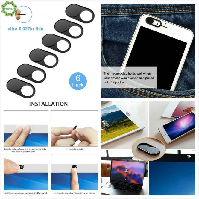 2Pcs Cover Camera Shutter Lens Privacy Sticker For Phone Laptop Pad Tablet fg