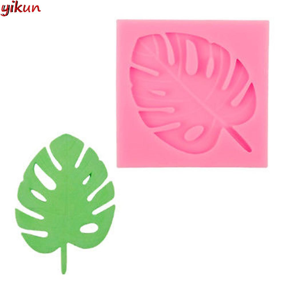 Aliexpress.com : Buy Byjunyeor M384 Plane Coconut Tree ...  Plane Tree Leaf Silicone Molds