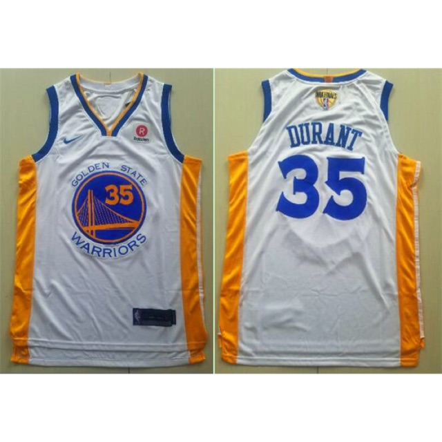 b46ade569d5 Kevin durant golden state warriors blue 35 nike jersey OEM