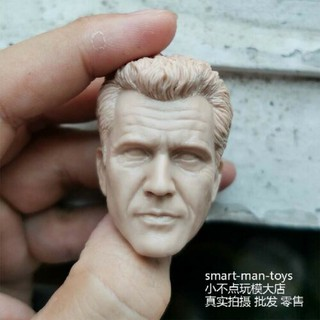 1//6 Danny Glover Head Sculpt Lethal Weapon fit 12/'/' Male Body