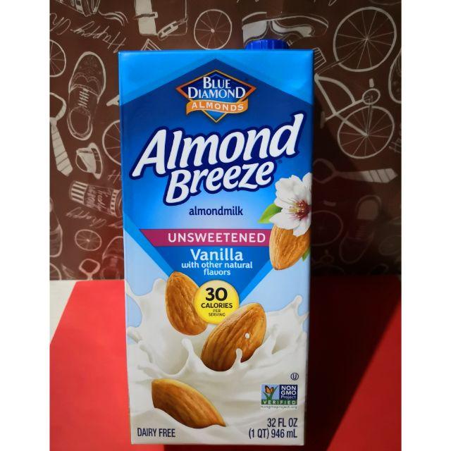 Keto approved Almond Breeze ALMOND MILK Unsweetened ...