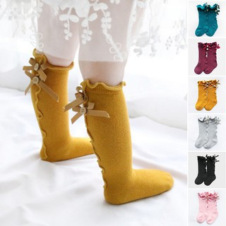 1-10t Kids Socks Toddler Baby Cotton Socks Knee High Long Warmers Cute Boy Girl Children Socks Girls Knee High Girls Knee Socks Special Buy Socks