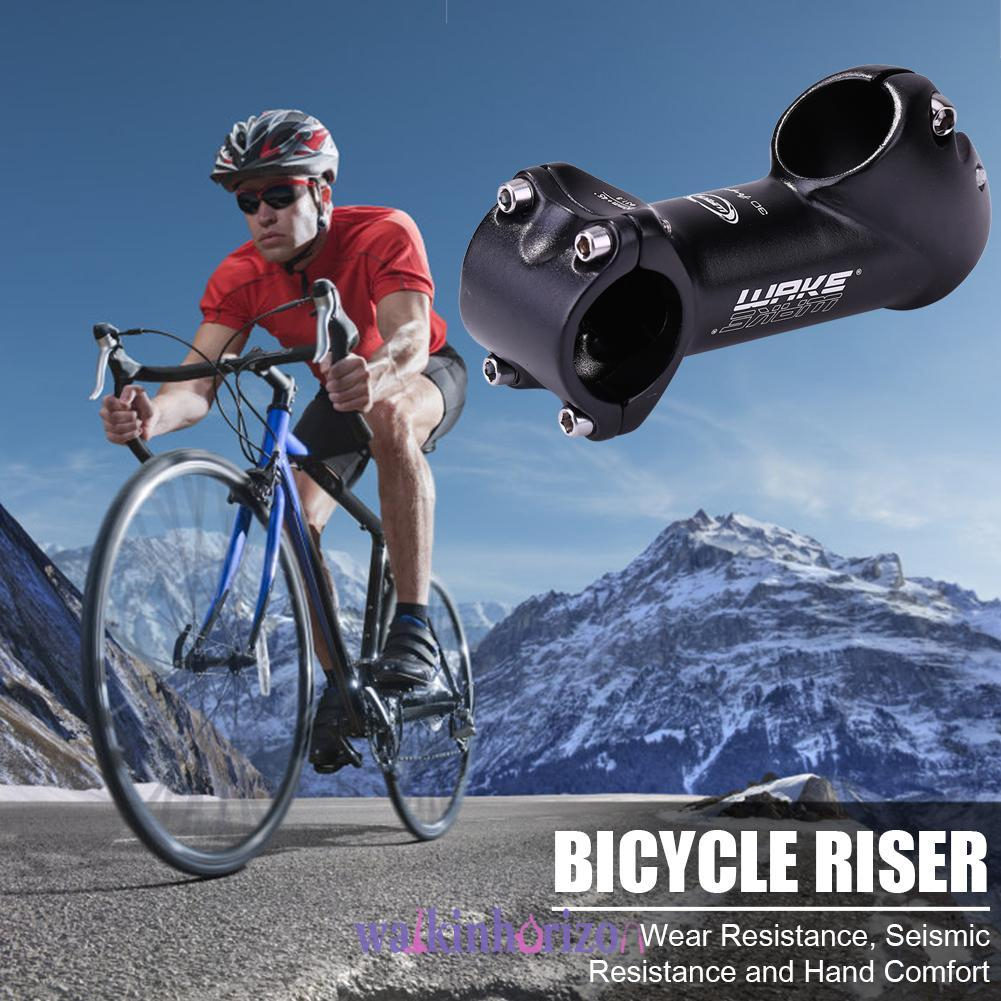 MTB Stem 45 Degree 31.8 90mm Bike Wake Mountain Short Handlebar Riser Bicycle