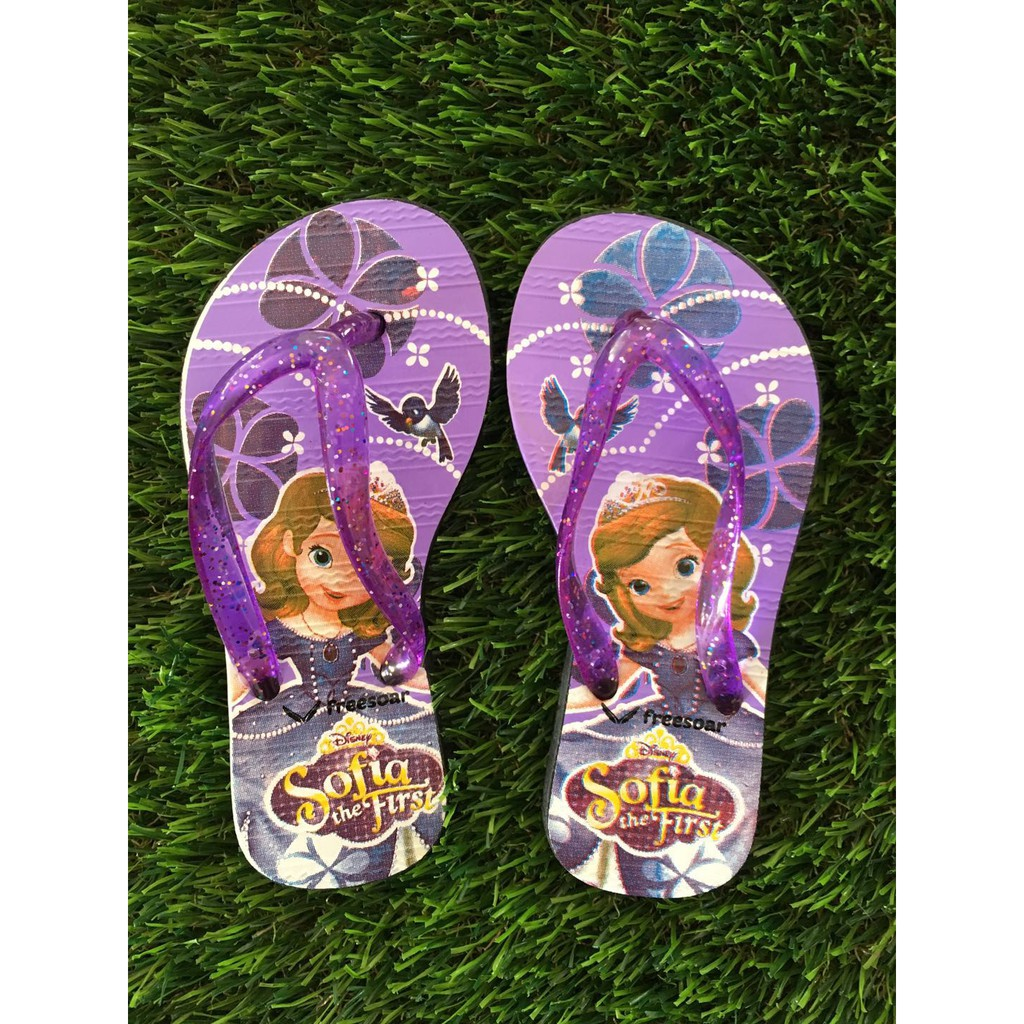 Havaianas Kids Sofia Purple Lavander FlipFlops All Size