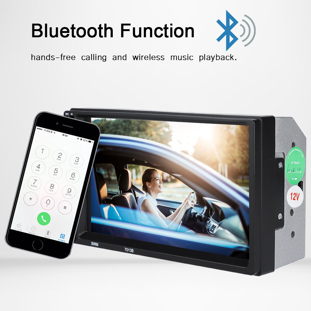 7 2din Mp5-7088d Radio Bluetooth Mp4 Player Touch Screen Multimedia Mp4 Player