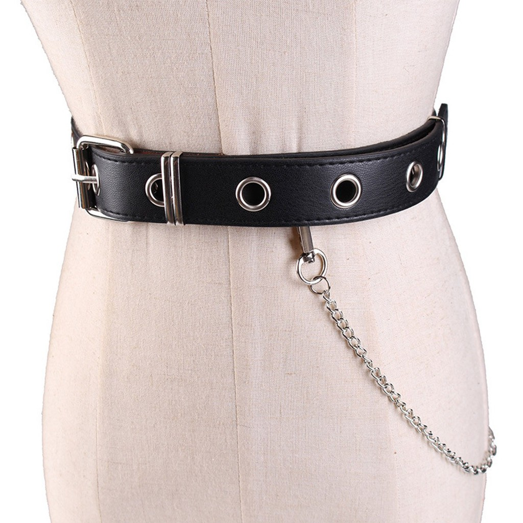 521df318153 Waist Belt Chain Punk Hip-hop Trendy Women Belts Ladies