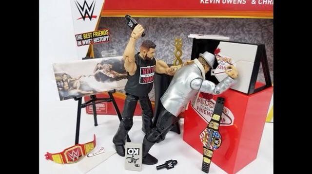 WWE Mattel Action Figure Accessory Festival List of KO /& Pen Elite Series loose