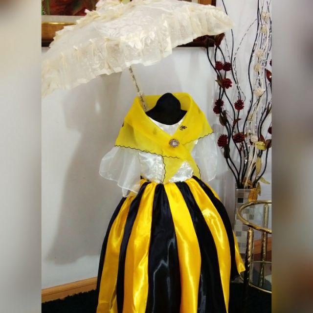 Maria Clara Costume For Kids Shopee Philippines