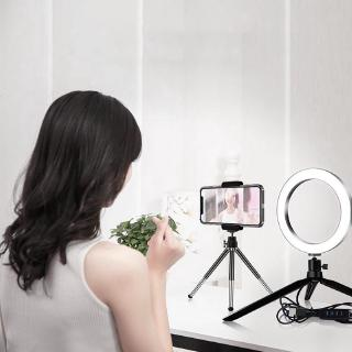 9W 8 Inch 96PCS Chip LED Dimmable Selfie Ring Light USB Photography Fill Lamp with Tripod Phone Clip Vbestlife LED Ring Light Dimmable with Tripod Phone Clip