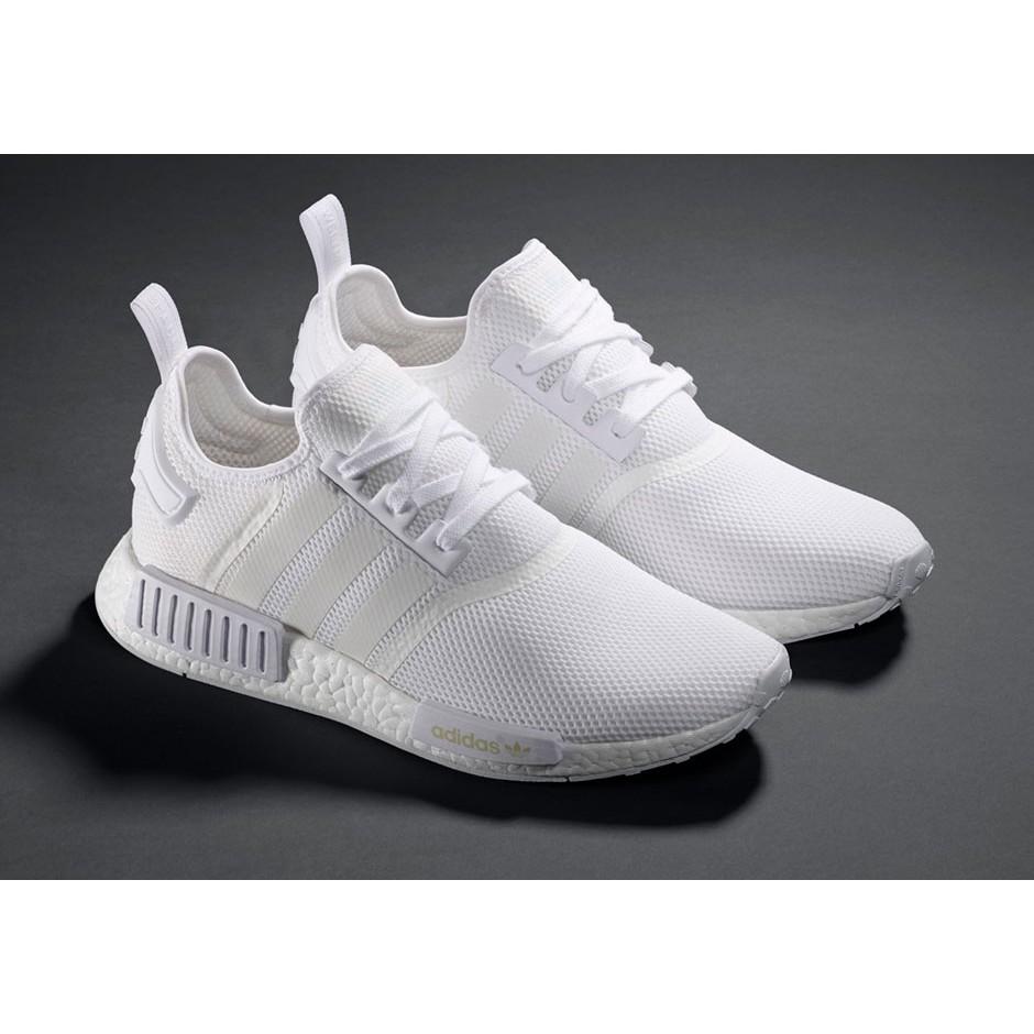 2b22e5f0d4d Adidas NMD Runner Boost R1 Adidas shamrock all-white running ...