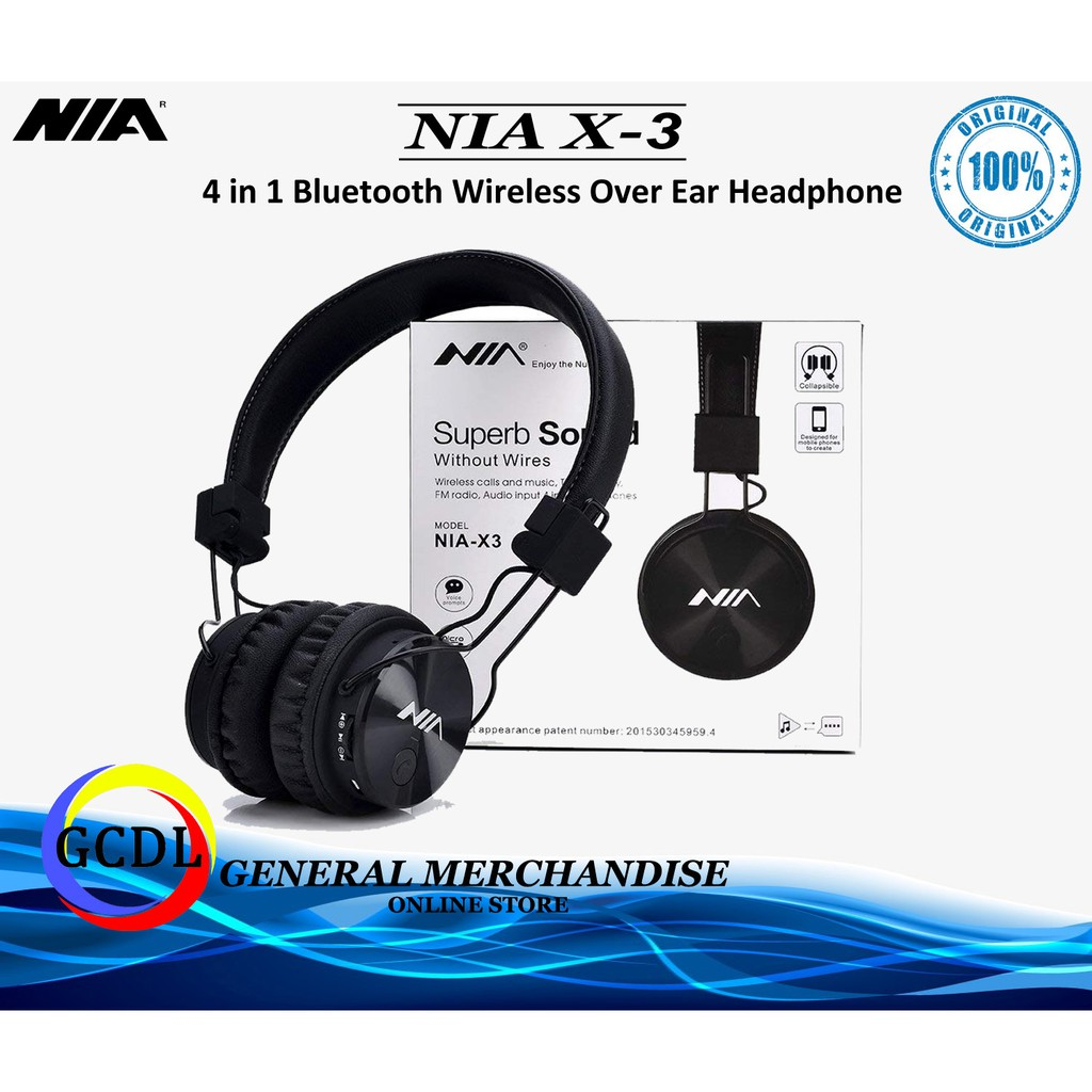 dab5e0a5c38 ProductImage. ProductImage. Sold Out. NIA X - 3 Bluetooth Wireless  Headphones ...