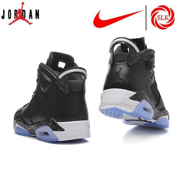 brand new 36ef4 d3d43 Nike Air Jordan 6 (VI) Retro Oreo Blue Men s Shoe Sports basketball running  shoes