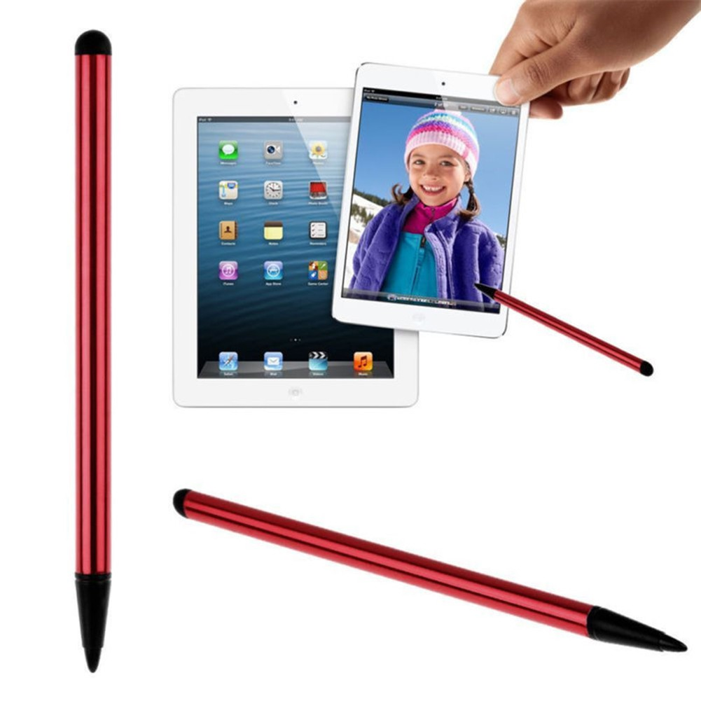Touch Screen Pen Dust Plug Cap Capacitive Pen For Ipad Iphone Samsung Tablet PC
