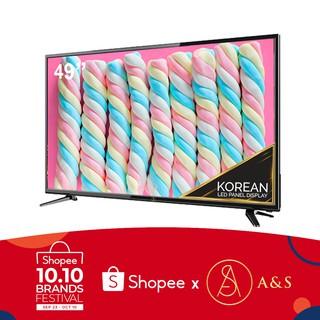 A&S 49″ Slim Full HD LED TV