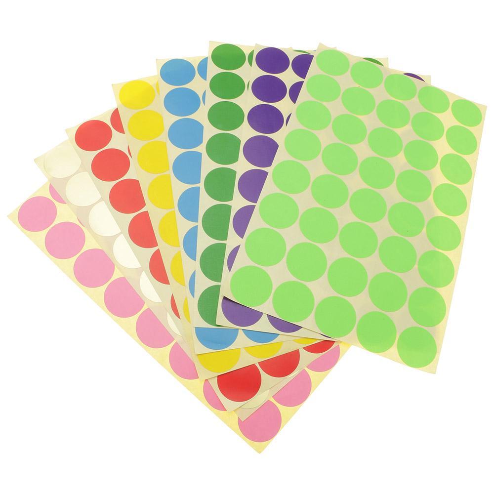 Velcro Dots 1008pcs 0 39in 1cm Diameter Sticky Back Coins