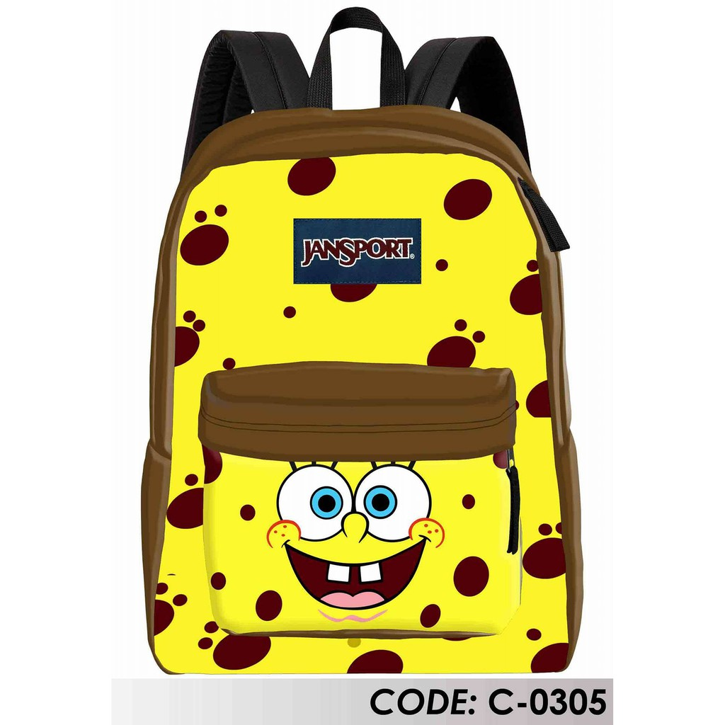 Jansport Spongebob Design Shopee Philippines