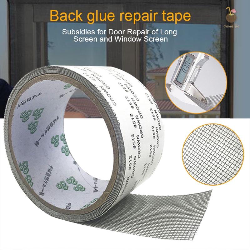 Screen Repair Kit Strong Adhesive Door Window Screen Patch Tape Covering Repair Tape Shopee Philippines