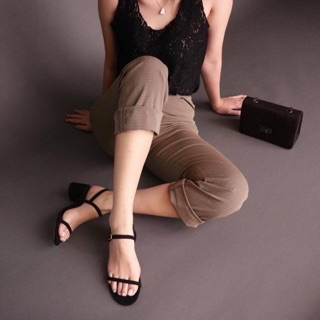 Lui 2 Inches Block Heel Shopee Philippines